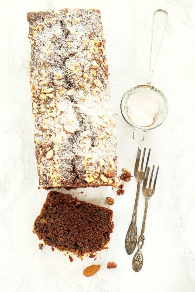ciasto czekoladowe z orzechami włoskimi