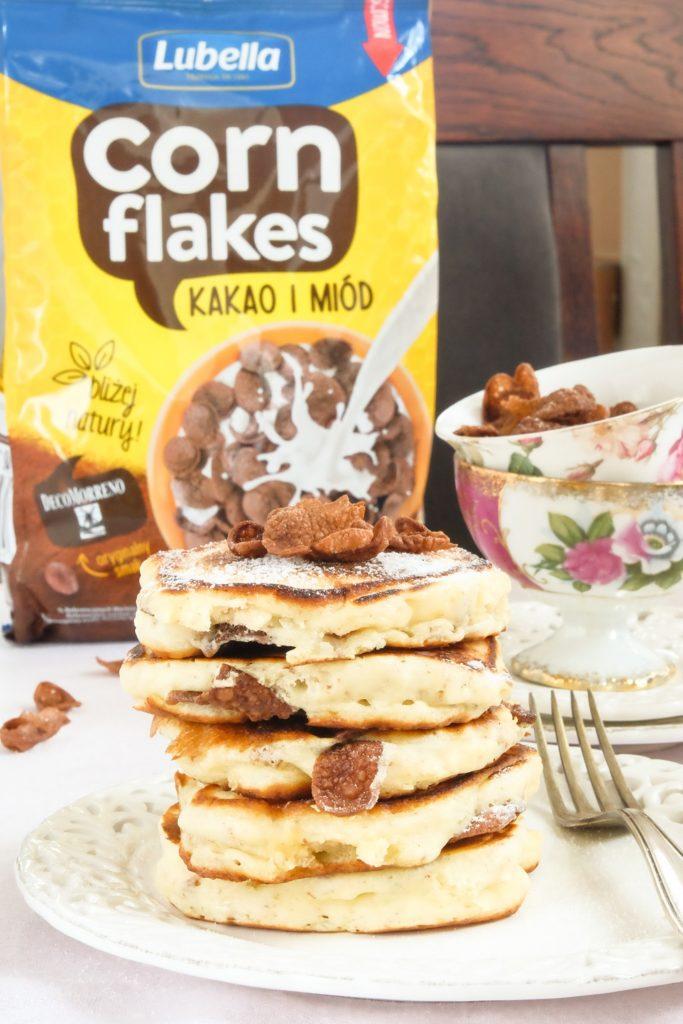 racuszki z płatkami czekoladowymi