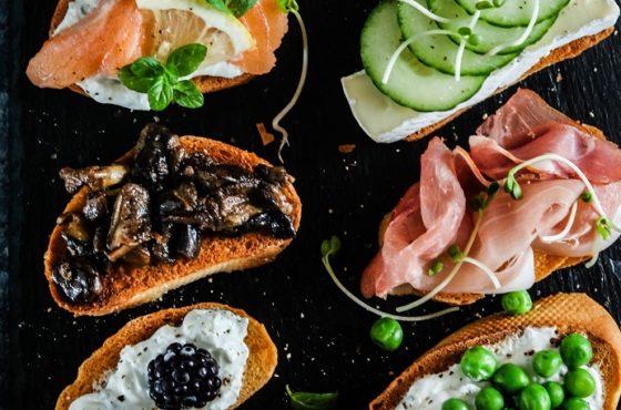 Zdrowe i kolorowe kanapki do łapki