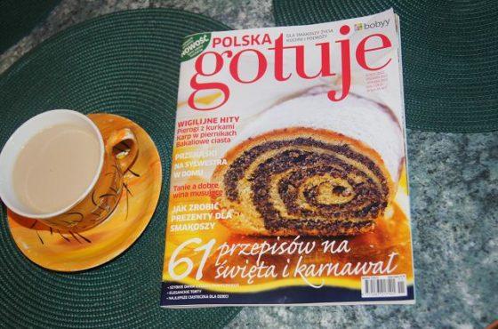 Polska Gotuje ! i Panna cotta czekoladowa