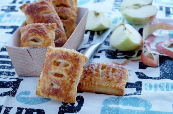 Ekspresowe ciastka francuskie z jabłkami