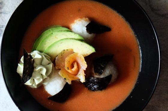 Pomidorowa w stylu japońskim