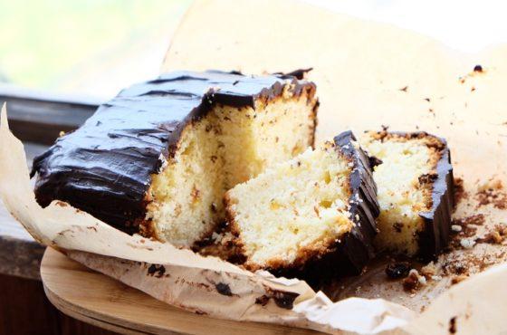 Ciasto ucierane cytrynowo-tymiankowe