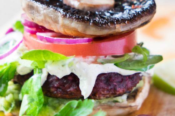 Apetyczny vege burger