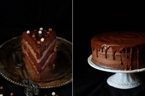 Szybki czekoladowy torcik