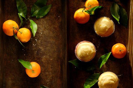 Ekspresowe babeczki podwójnie mandarynkowe