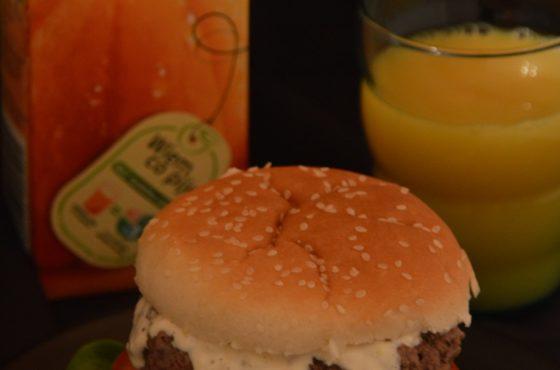 Hamburger na śniadanie