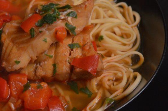 Zupa rybna z Baja – Węgry