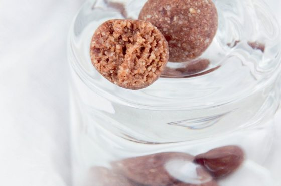 Trufle orzechowo – kokosowe bez cukru